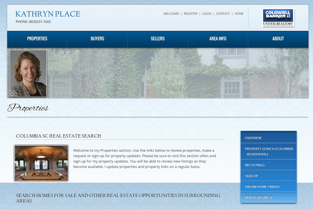 Columbia SC Real Estate Search