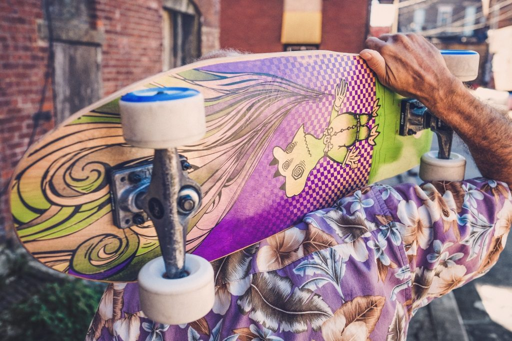 skateboard-art-free-stock-photo